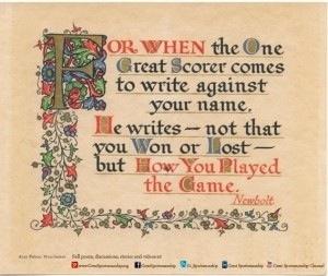 Poem by Grantland Rice