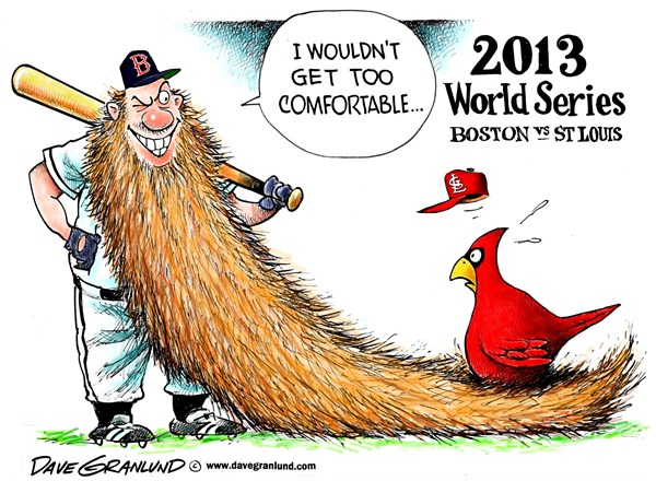 World Series Cartoon