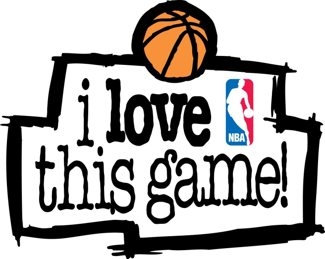 NBA Logo I Love This Gamejpg