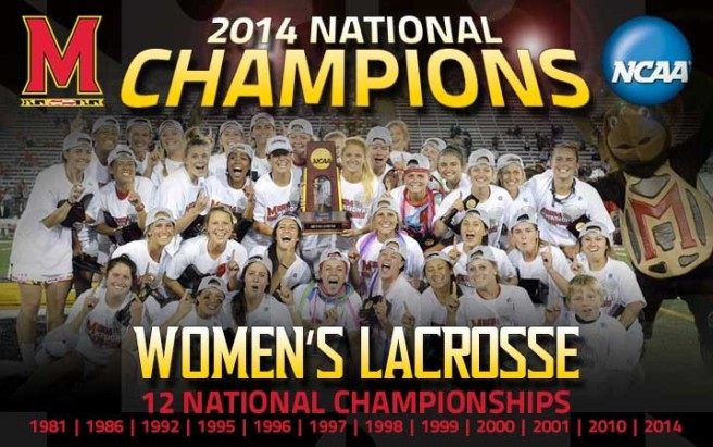 MD Womens Lacrosse 2014