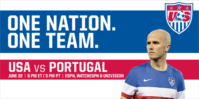 USAvPortugal in World Cup