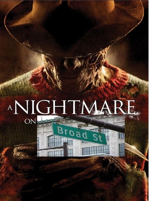 nightmare on Broad St