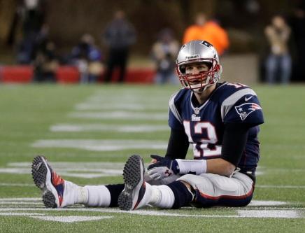 Brady Sitting Down