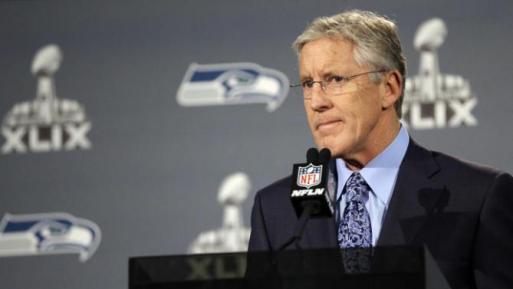Pete Carroll Super Bowl Loss