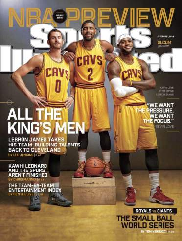 SI Lebron in Cleveland