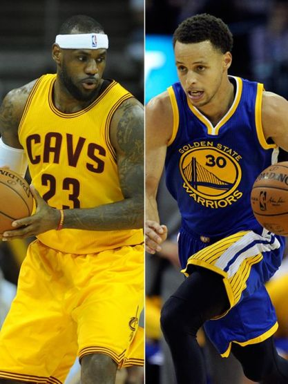 Lebron Curry NBA-Finals-
