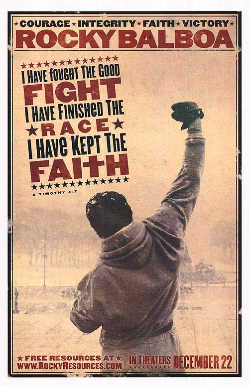 Rocky Inspirational Poster