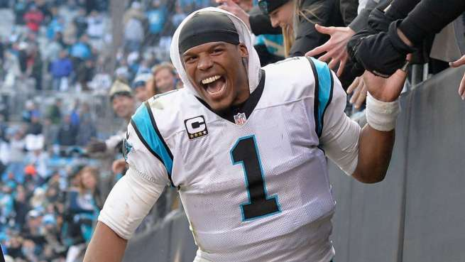 cam-newton-slapping hands