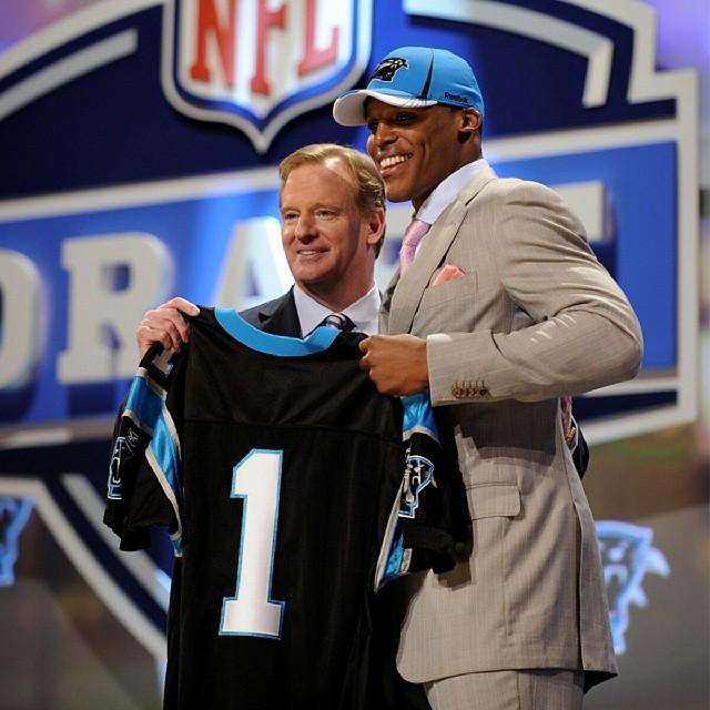 Cam Newton NFL Draft