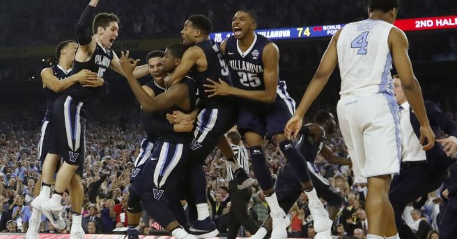 Villanova Defeats UNC InTitle-Game