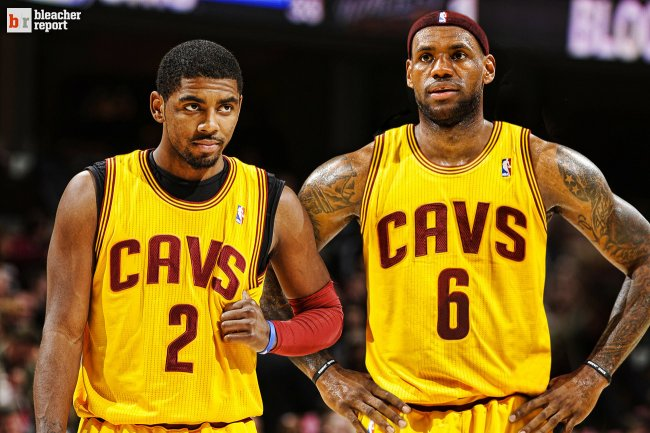 James and Kyrie Irving