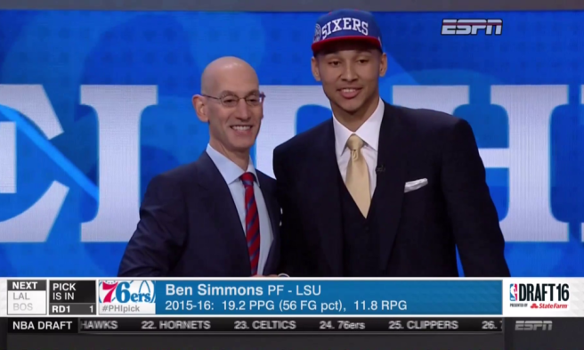 Simmons No 1 Pick