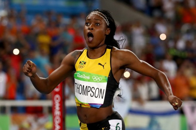 Olympics-Elaine-Thompson