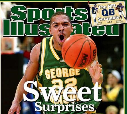 George-Mason-Sports-Illustrated-Cover