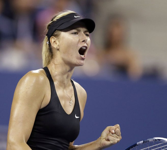 Maria Sharapova First Round 2017 US Open