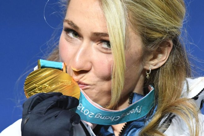 Mikaela Shiffirn 2018 Gold
