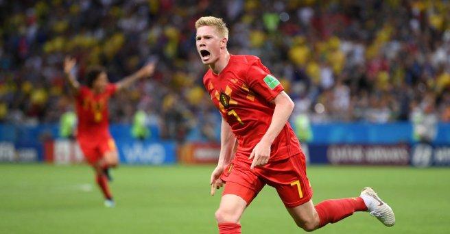 Belgium Defeats Brazil