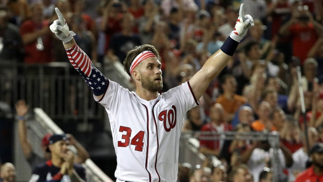Bryce Harper 2018 Home Run Derby