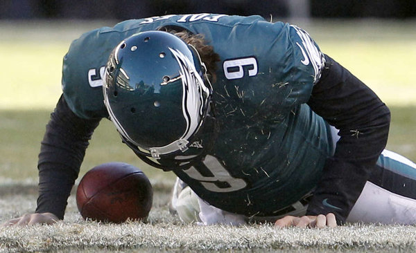 Nick Foles down
