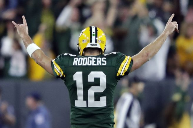 Aaron Rodgers. No. 12