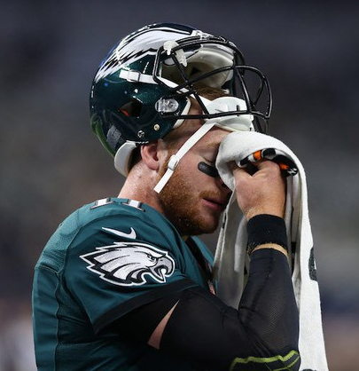 Carson Wentz-philadelphia-eagles-loss to-dallas-cowboys