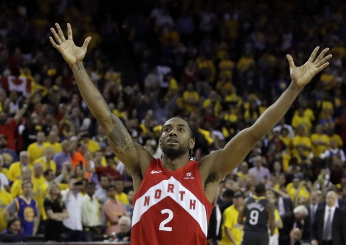 Kawhi wins NBA Championship with Toronto