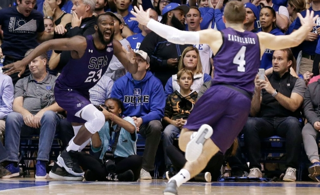 Stephen F. Austin Defeats Duke