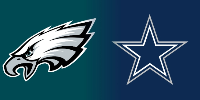 Eagles Cowboys Logos