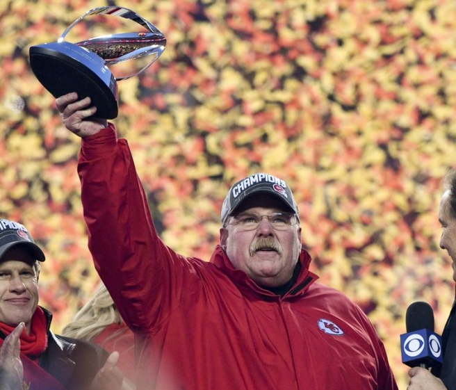 Andy Reid AFC Championship Game 2020