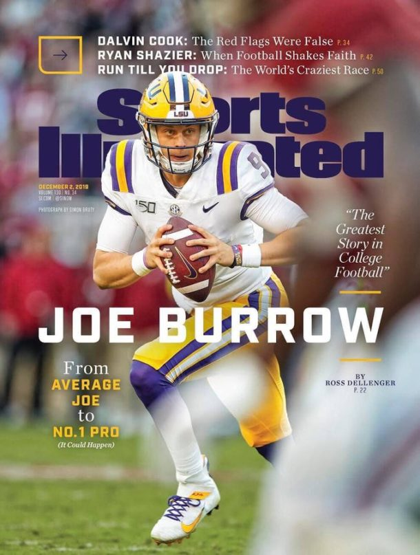 Joe Burrow SI Cover